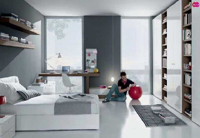 gambar desain kamar tidur remaja pria