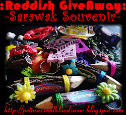 Reddiah giveaway Saya Nak Sarawak Souvenir