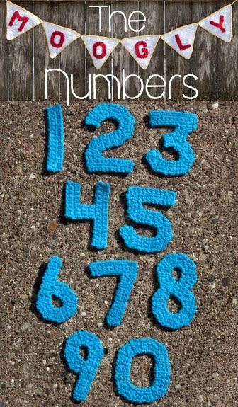 Crocheting Numbers : ... del Crochet: ALFABETO, N?MEROS Y SIGNOS DE PUNTUACIoN A CROCHET