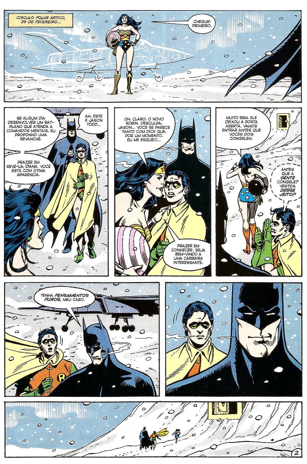 batman mulher-maravilha robin