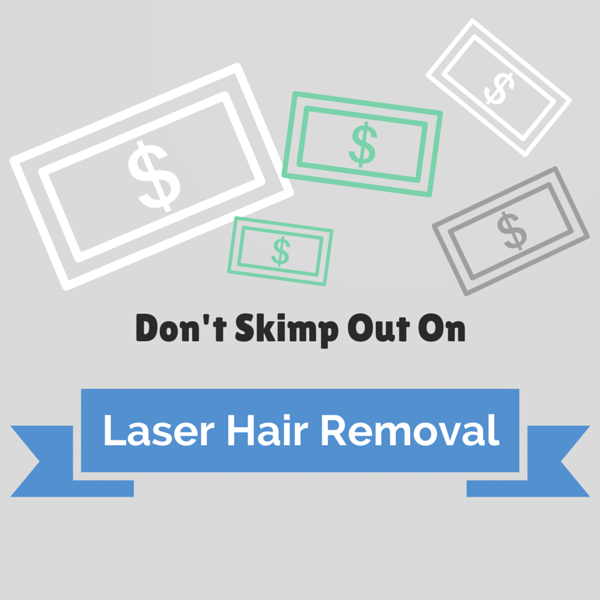 Laser hair removal treatments can be risky if performed by inexperienced providers.