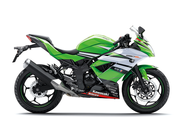 Kawasaki Jepang rilis warna baru Ninja 250RR Mono . . . WSBK Edition