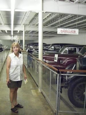 Pioneer Village - Cadillac after Cadillac