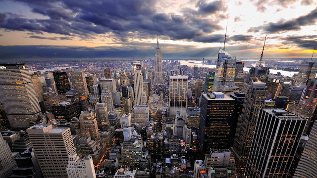 Fim de tarde em Manhattan