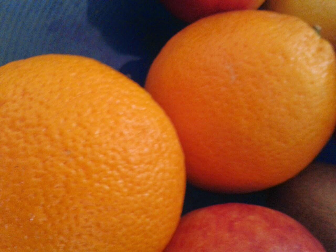Oranje overal