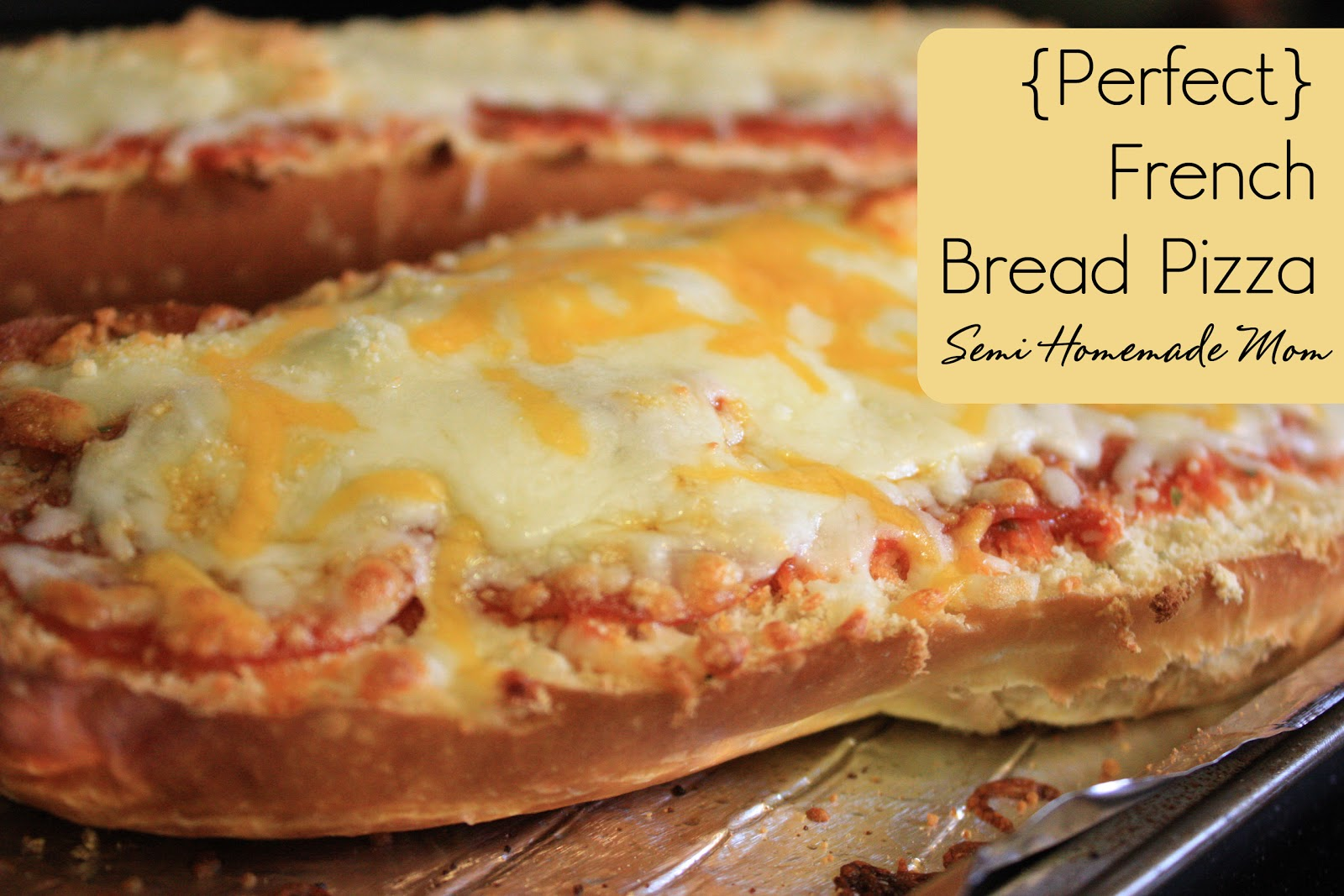 Perfect French Bread Pizza | Mostly Homemade Mom