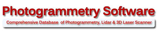 Photogrammetry Software-Lidar-3D Laser Scanners-Aerial Photogrammetric Mapping-Free Images