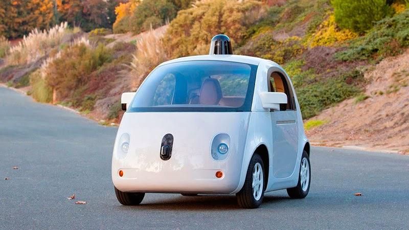 coche sin volante de Google