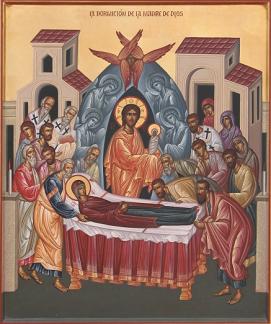 DORMICIÓN DE LA VIRGEN MARÍA. Fiesta 15 de Agosto (Iglesia Ortodoxa)