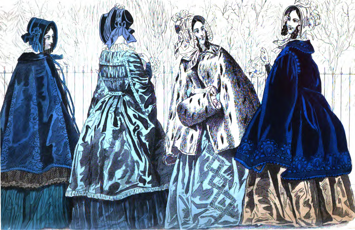 19th Century Historical Tidbits: 1843 Fashions