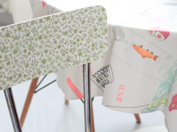 DIY Vecchia sedia, nuovo stile/ Restyle old chair