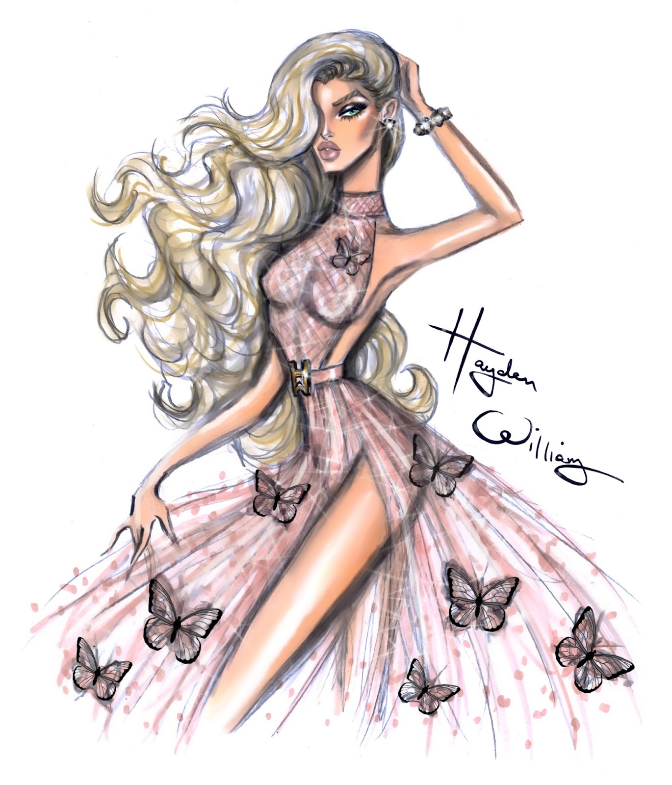 Hayden Williams Fashion Illustrations January 2016