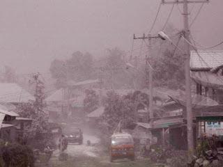 Kumpulan Foto-Foto Erupsi Gunung Sinabung