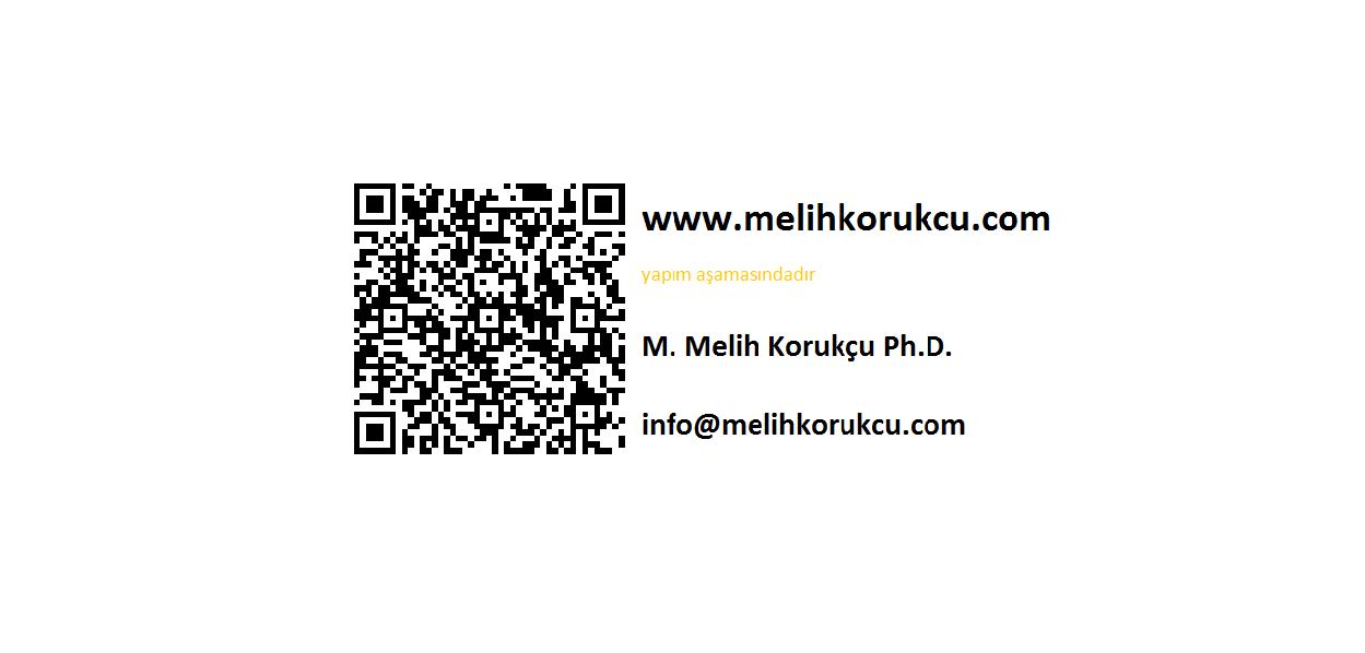Melih Korukcu Ph. D.