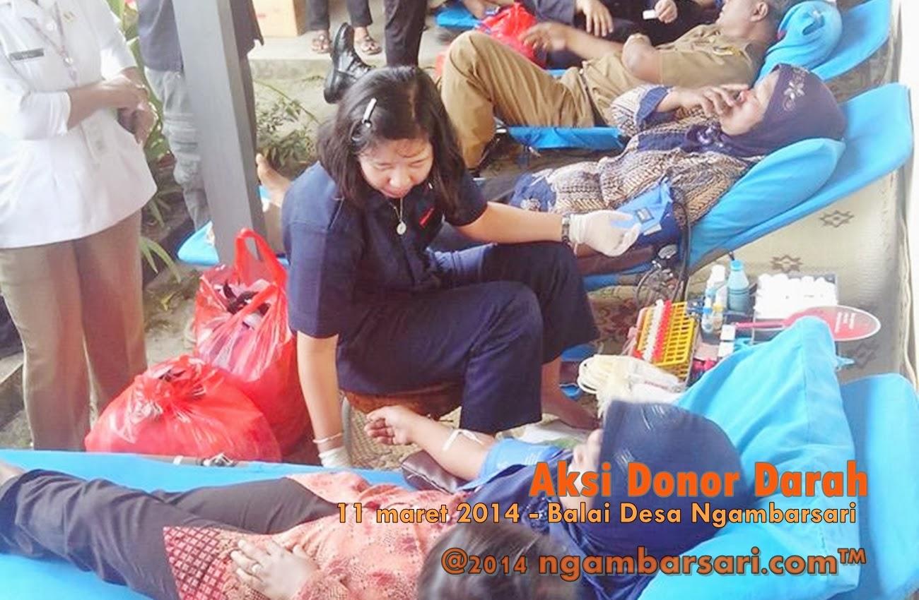 Aksi Donor Darah Ngambarsari 7