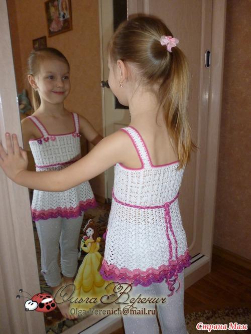 девочки (вязание крючком)