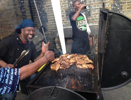 Jerk Chicken, Notting Hill Carnival 2012