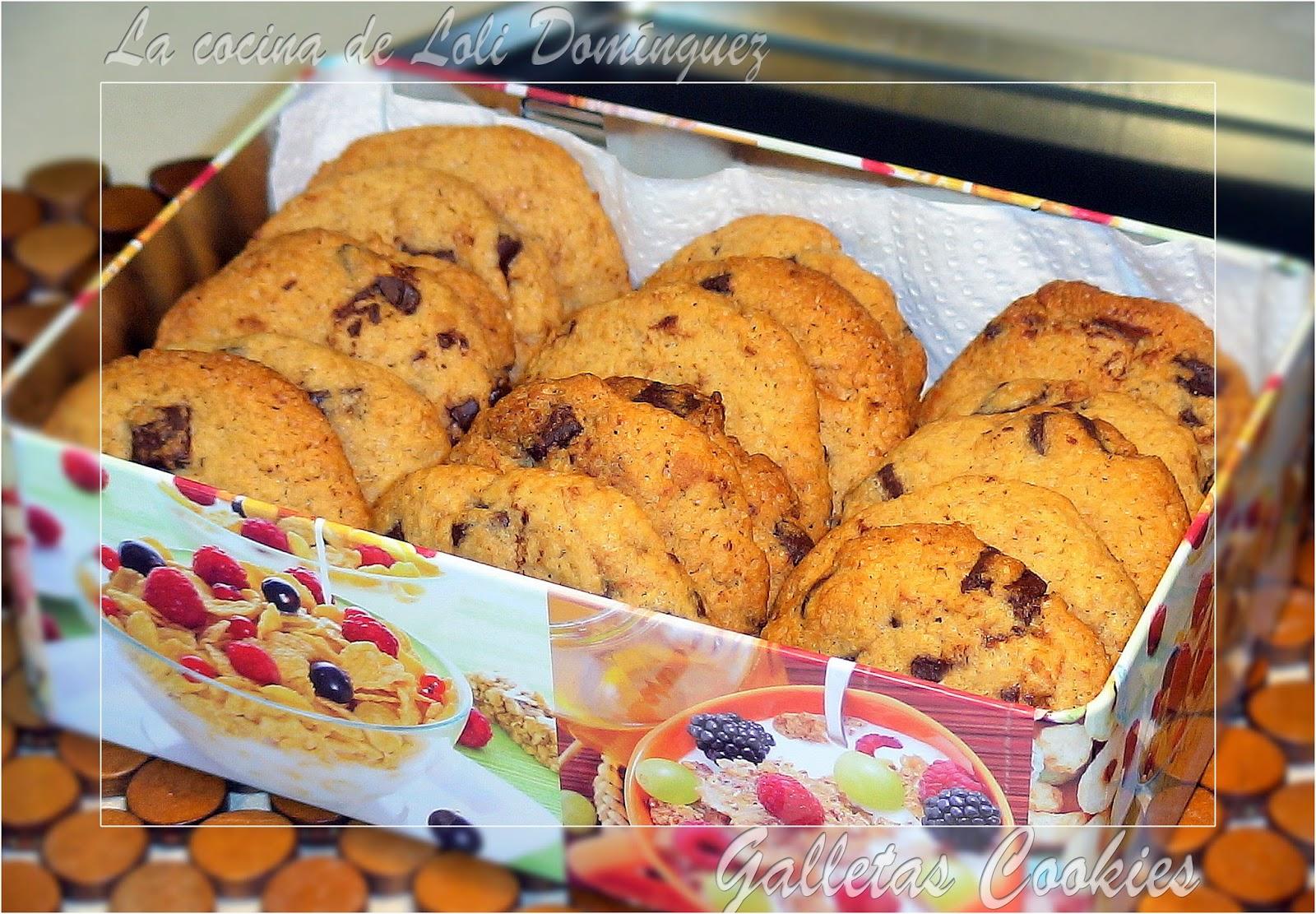 la cocina de loli dom nguez galletas cookies