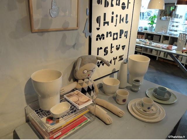 Boutique Déco et Céramique Liebe à Copenhague