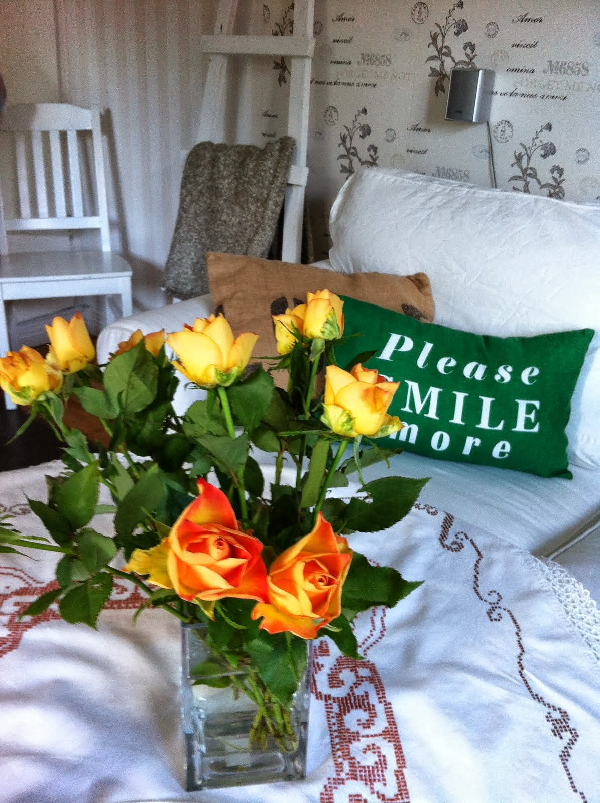 Kuddar & blommor ....