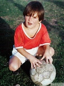 messi with ball