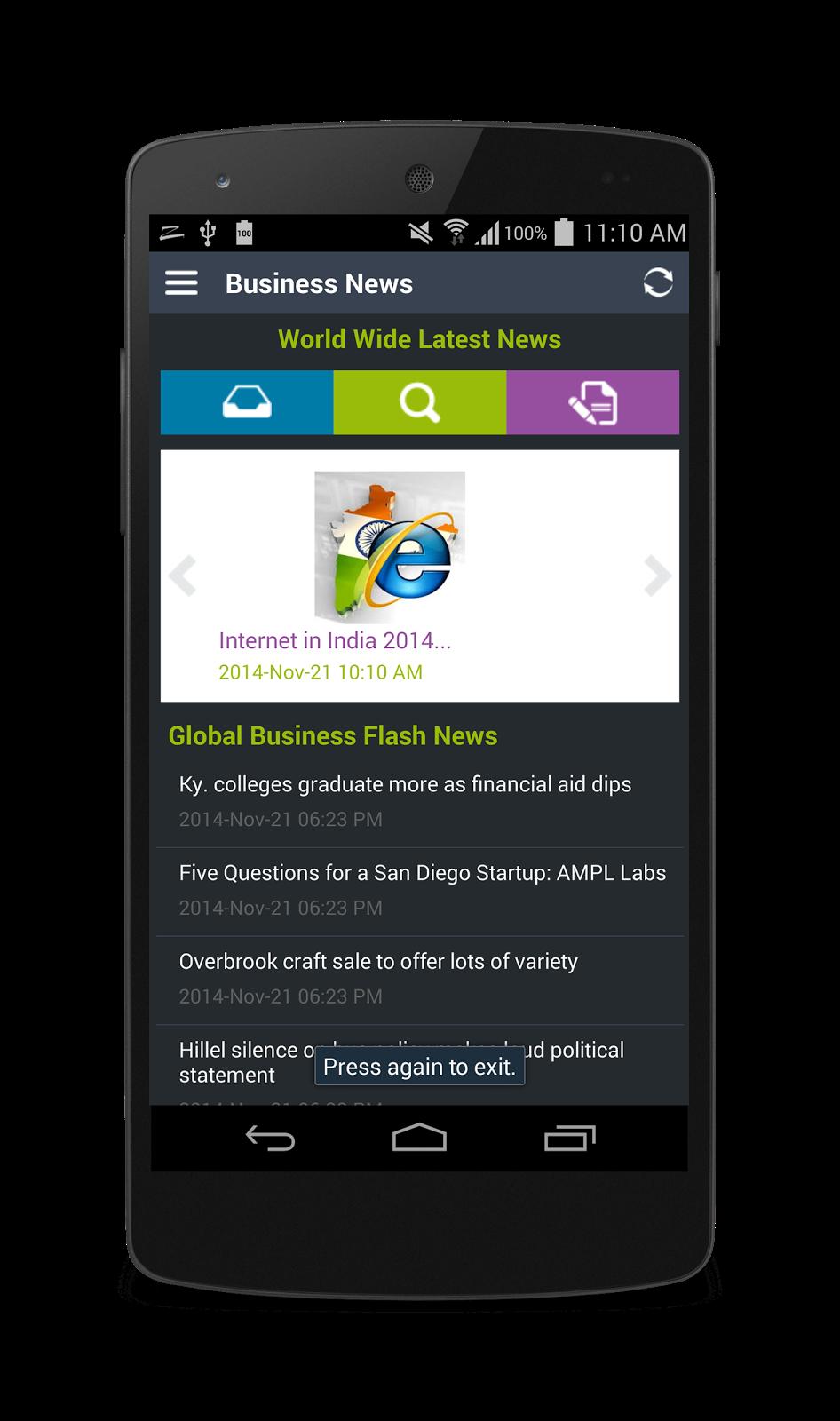 Newsbilla Android App