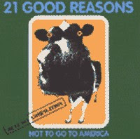 21 GOOD REASONS NO TO GO TO AMERICA - compilation BUZZ OFF Records (1998)