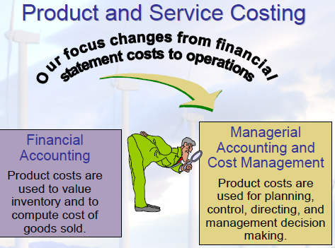 product and service costing Businesspeople adopt abc hoping to improve costing accuracy, to uncover the true cost and profitability of products and services abc assigns costs based on activities and resource usage, in.