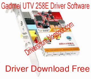Gadmei UTV 258E Driver Software Driver Download Free