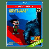 ¡Jóvenes Titanes en acción! La película (2018) 4K UHD Audio Dual Latino-Ingles