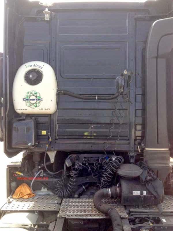 camión antes de ser pintado