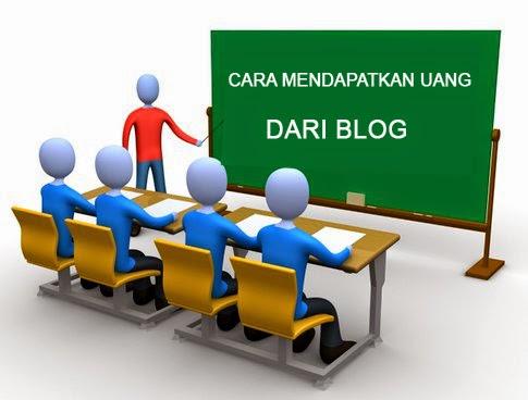 menghasilakan uang dari blog