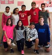 Le groupe de 3ème ESO