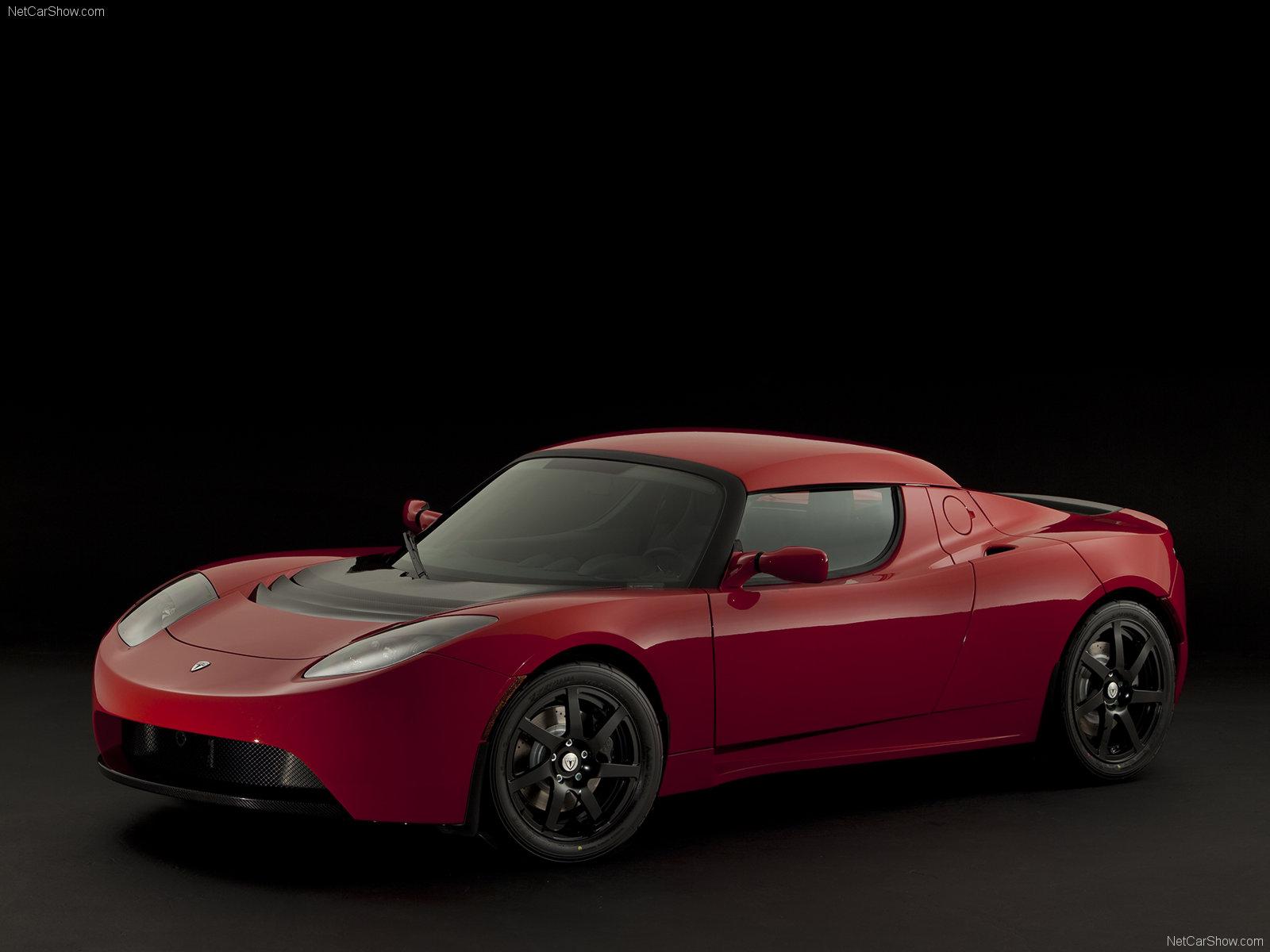 Hình ảnh xe điện Tesla Roadster Sport 2010 & nội ngoại thất