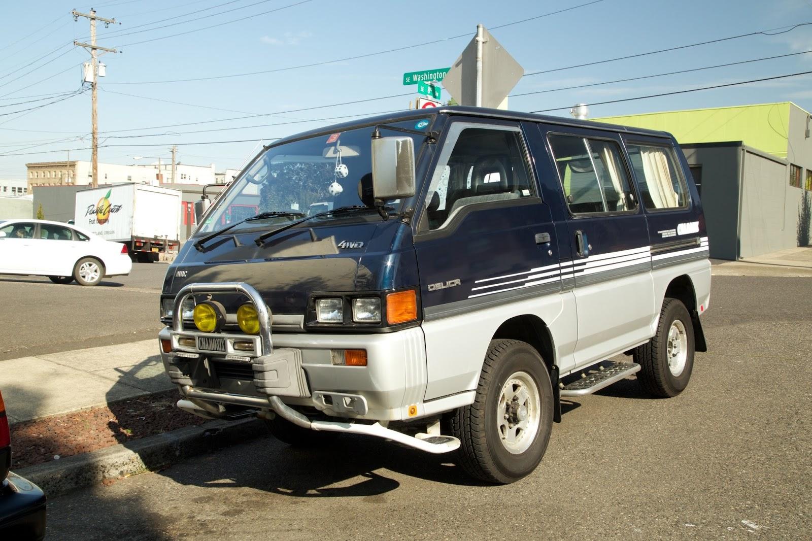 1993 Mitsubishi Delica Chamonix Star Wagon Turbo D