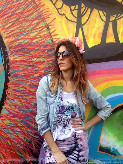 Linda Canaria Tejidos colección primavera verano 2014.