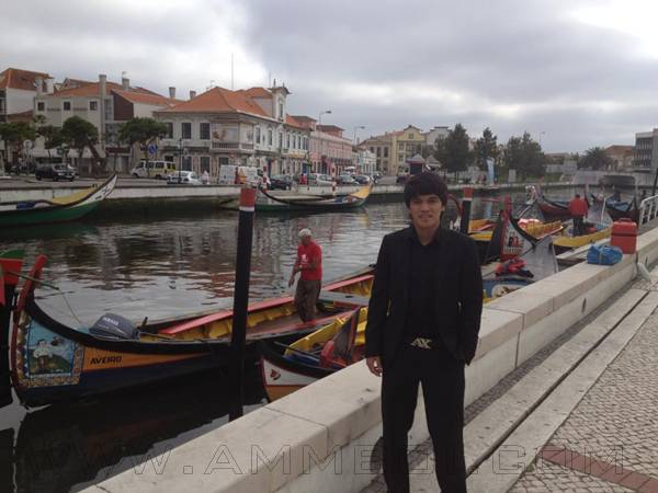 gambar nazmi faiz di sc beira mar portugal