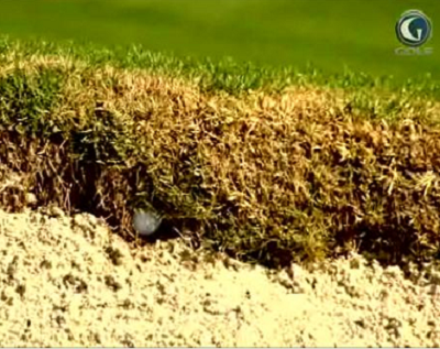 Rules Of Golf Big Break Ball Embedded In Face Of Bunker Controversy