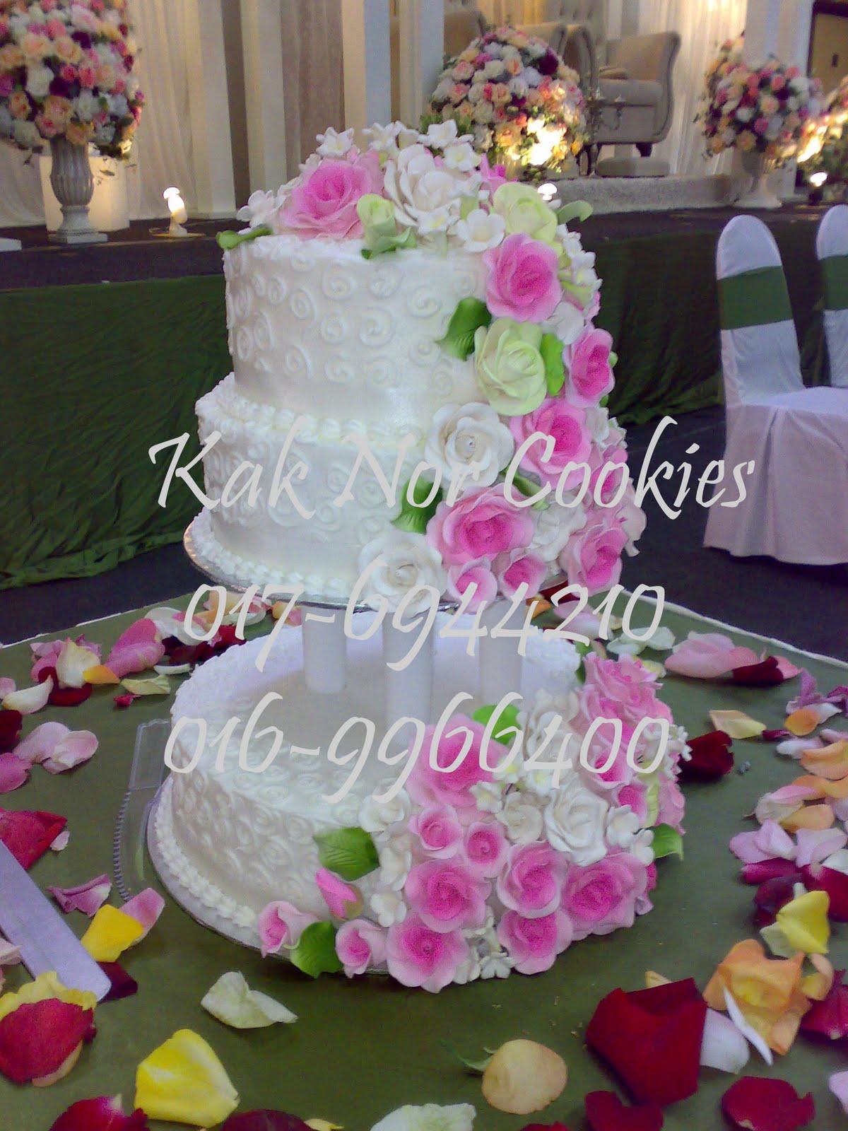 Gambar Kek Kahwin