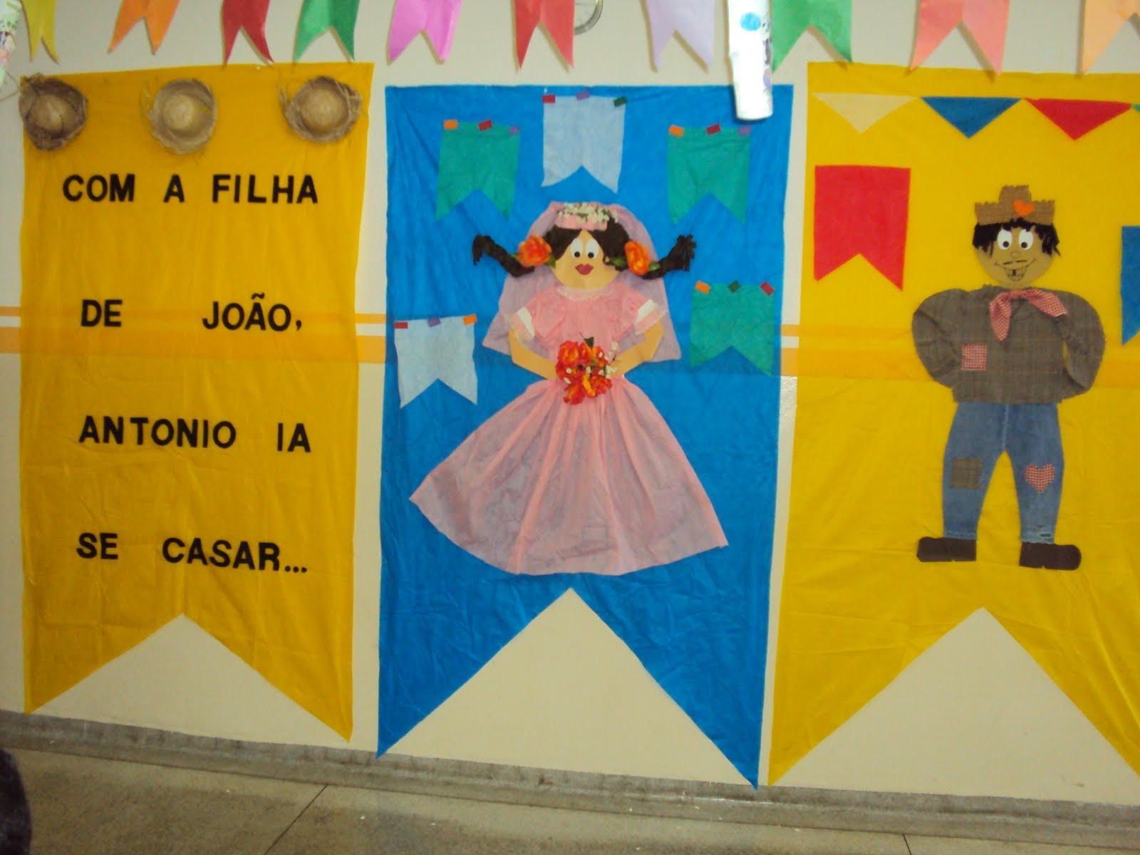 Educar Etc E Tal Decoração Festa Junina