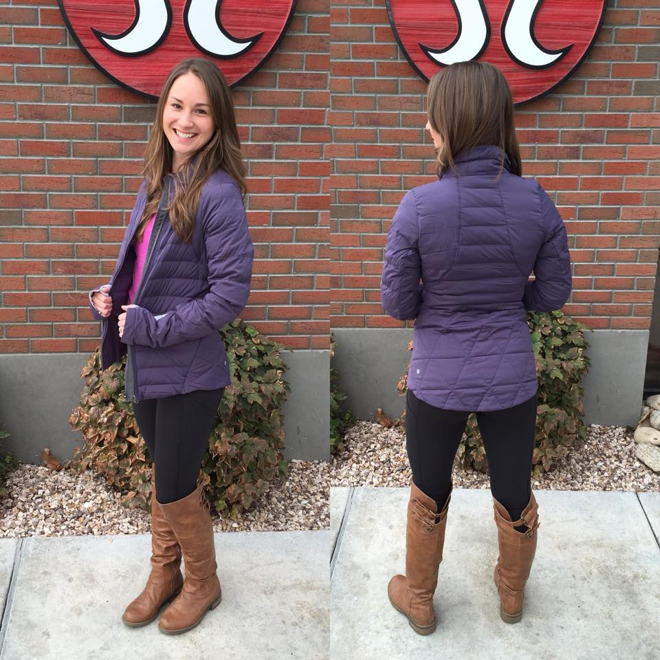 lululemon fluffed up jacket
