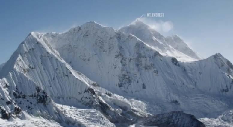Teton Gravity Estreno por primera vez un Ultra HD metraje del Himalaya Por encima de 20.000 pies