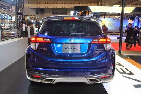 Touch 'hard core' Mugen Honda Vezel