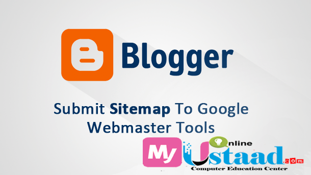how to submit blogger sitemap to google