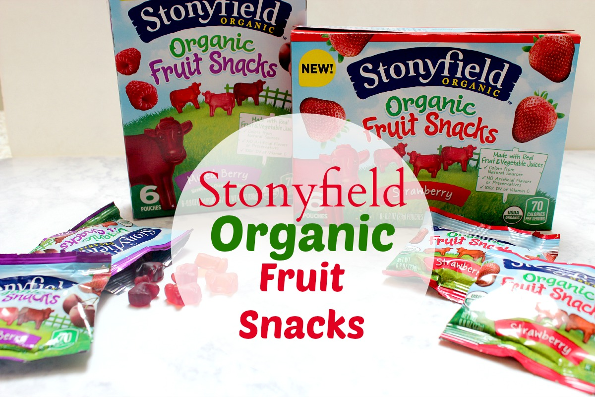 organic fruit are fruit snacks healthy