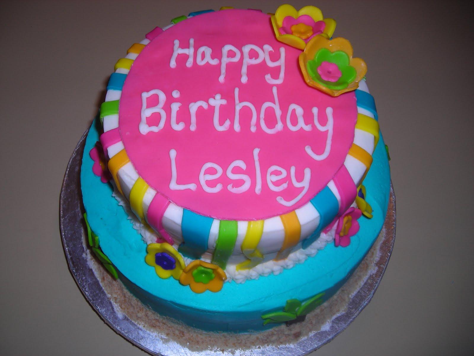 pattycakes Luau Birthday Cake