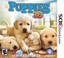 Puppies 3D   Nintendo 3DS