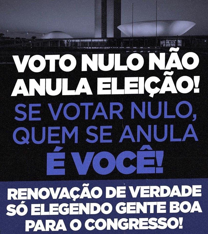 Voto nulo não anula!