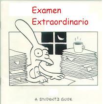 PRUEBA EXTRAORDINARIA - Pérdida de evaluación contínua: