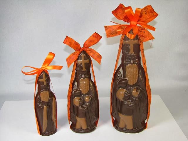Saint Nicolas en chocolat Alain Batt à Nancy